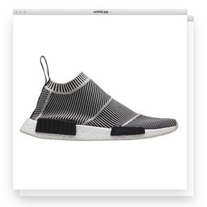 adidas | nmd city sock core black sz 10